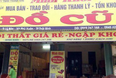 Mua bán đồ cũ tại Thái Bình – Thế giới đồ cũ
