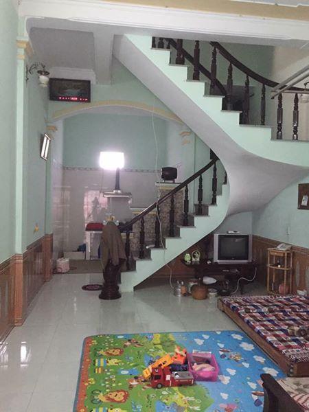 Nhà 2,5 tầng, Đông Nam, DT 50, Kv Vu Chinh, cách đường ô tô 5m