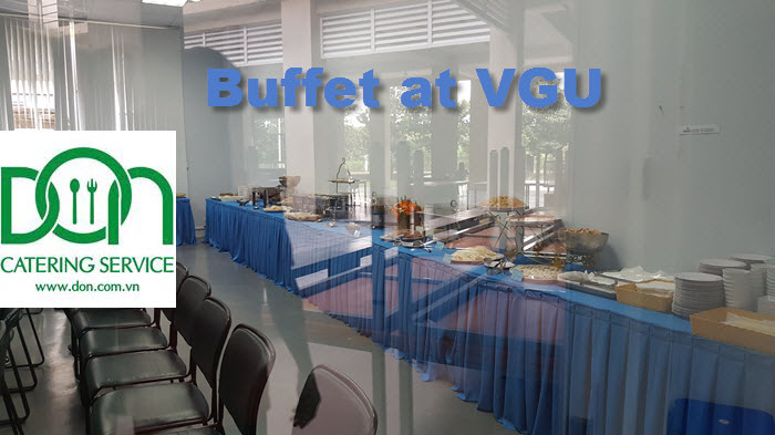Nhận đặt tiệc buffet, tea break, finger food, cocktail, set menu cho các sự kiện công ty & gia đình