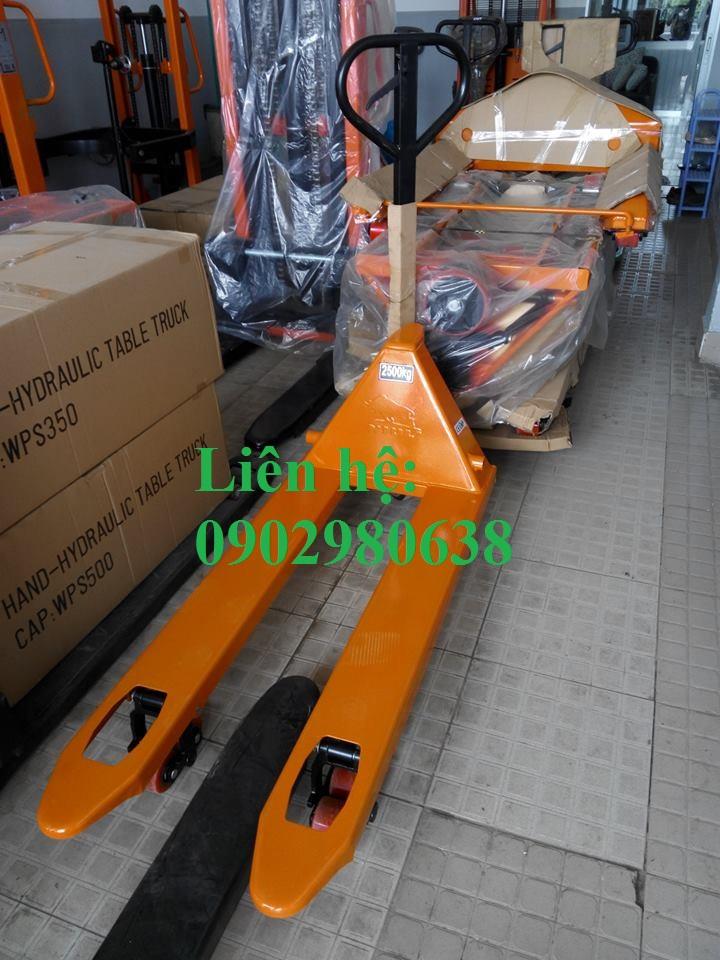 Bán xe nâng tay thấp 5 tấn