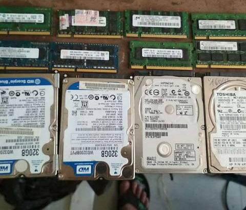 Ổ cứng và ram laptop