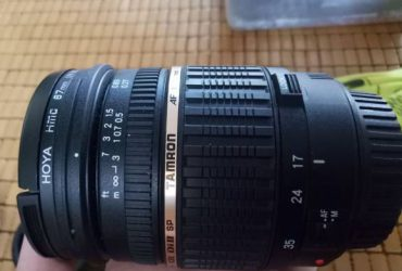lens Tamrow 17-50 f2.8 non VC