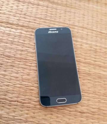 Samsung Galaxy S6 phiên bản nhật Đen bóng xanh
