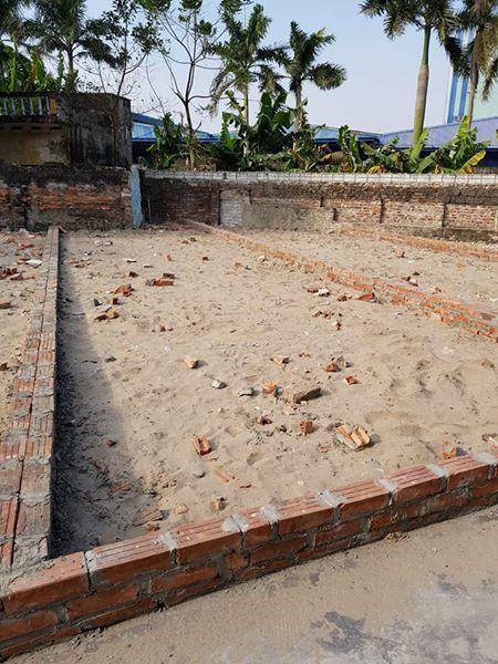 Bán mảnh đất chưa xây 180tr