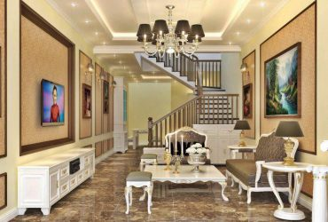 Bán nhà xây thô – thiết kế kiểu tầng lệch