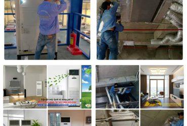 Máy lạnh Daikin công nghiệp: máy lạnh tủ đứng và giấu trần nối ống gió 8hp