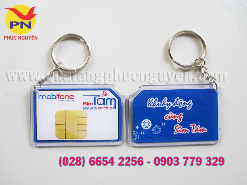 Cơ sở sản xuất móc khóa in logo, móc khóa mica, móc khóa đổ keo giá rẻ