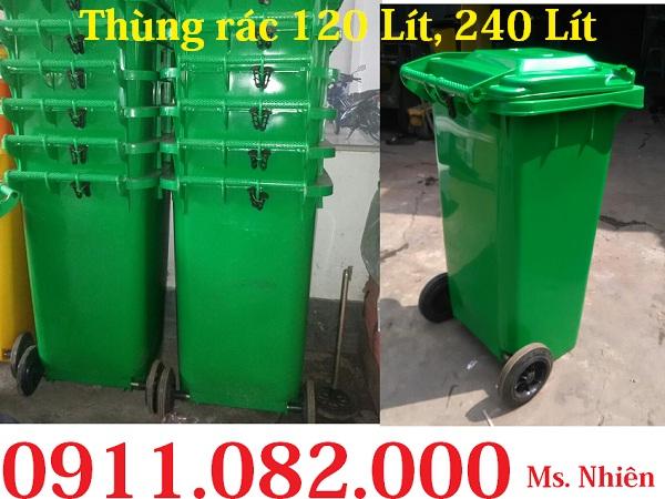 Thùng rác giá rẻ, thùng rác y tế, thùng rác 120L 240L giá sỉ lẻ- 0911082000