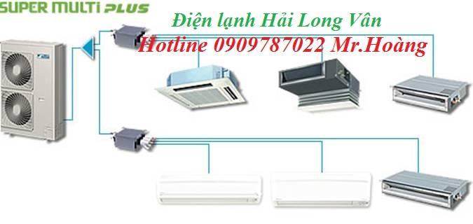 Máy lạnh Multi Daikin là giải pháp tốt nhất tiết kiệm diện tích dàn nóng
