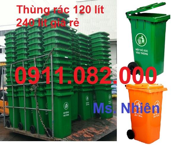 Chuyên sỉ lẻ thùng rác 120L 240L 660L giá sỉ- thùng rác giá rẻ