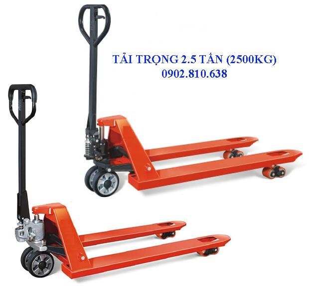 Xe nâng tay 2.5 tấn chất lượng cao Trung Quốc