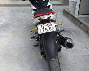 Xe exciter 150 đã thay ít đồ và lên trm